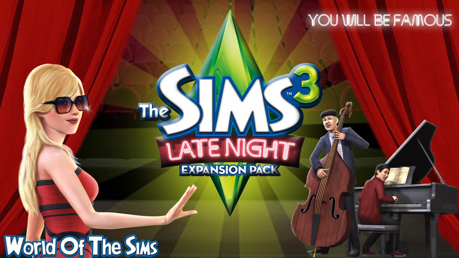 Laatste Sims 3 Na Middernacht Wallpaper World Of The Sims
